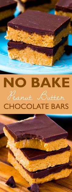Easy homemade Chocolate Peanut Butter Cup Bars made with only 5 ingredients. Recipe at sallysbakingaddiction.com