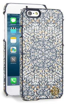 Free shipping and returns on Tory Burch 'Kerrington' Hard iPhone6Case at Nordstrom.com. A gleaming logo medallion highlights the kaleidoscopicpatterning on a stylish iPhone6 case.