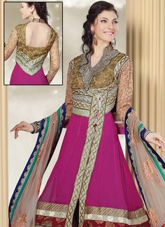Vibrant Georgette Anarkali Suit