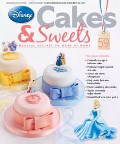 Disney Cakes and Sweets
