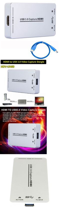 XI100D UVC 1080P 60FPS to USB3.0 Video HDMI Capture Dongle Card Box For Windows~