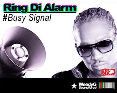 "Busy Signal is about to release a new single, entitled ""Ring The Alarm""! Busy Signal, Ring, Business, Music, Movies, Movie Posters, Musica, Rings, Musik"