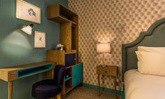 Hotel La Parizienne - Chambre Curieuse - #paris #hotel by Elegancia Hotels