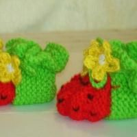 Watermelon Booties Pattern