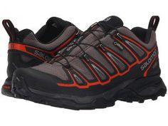 Salomon X Ultra 2 GTX (Autobahn/Black/Tomato Red) Men's Shoes