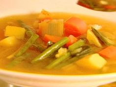 Get Provencal Vegetable Soup Recipe from Food Network