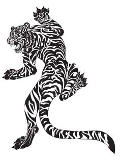Free Tiger tattoo Design