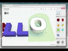 Tutorial-Write 3D text in Tinkercad