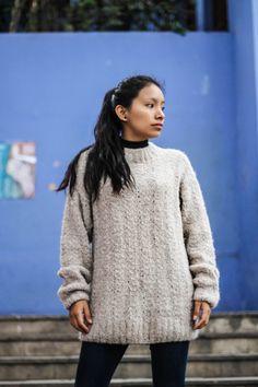 b0b2344541c Artisan Alpaca Boucle Sweater for Women