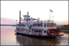 A ride on one of these down the Mississippi River