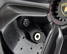 Lamborghini wheel detail.