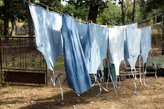 blue laundry by daveleb, via Flickr