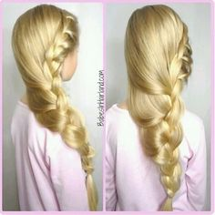chunky side braid | babesinhairlandblog