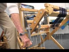 ▶ How to Warp a Loom from back to front - YouTube