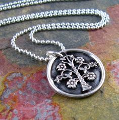Family Tree Necklace Mother Of The Bride by newhopebeading on Etsy