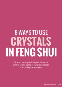 Crystals are fortresses in our personal self-care rituals, but they also do double duty as little houseworkers, busy at keeping this sparkly thing called chi moving through our homes. It's no secret that I am wild for strong and healthy feng shui. And one of my favourite aspects about good feng shui in the home is the helpful properties and cures that crystals offer. I've compiled eight different ways that you can use crystals to improve your home's feng shui, whether you're tucked in a...