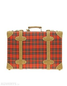 03b820c34e86 Pieces Helfried Little Tartan Suitcase In Red Tartan For Sale in Geevagh
