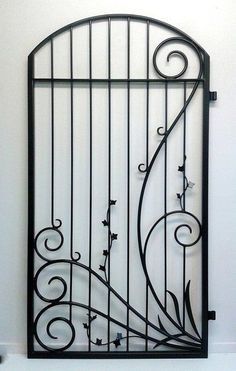 Adam Styles Creative Metal, custom metal and wrought iron gates and fencing, Nelson, NZ Wrought Iron Gate Designs, Wrought Iron Garden Gates, Wrought Iron Stair Railing, Wrought Iron Decor, Metal Gates, Iron Spindles, Metal Doors, Iron Windows, Iron Doors