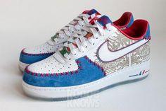 NIKE AIR FORCE 1 LOW PUERTO RICO 2013 #sneaker