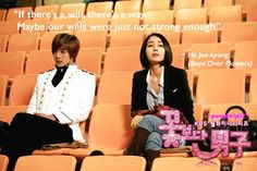 boys over flowers quotes - Google Search
