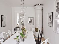 my scandinavian home: Shades of grey in the perfect Swedish apartment