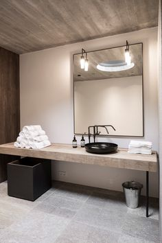 #Modern #Industrial #Masculine #Bathroom Monika Gogl & Partner Innsburck, Austria