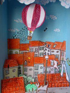 mandarinux: Teatro de papel: Los tejados de Lisboa