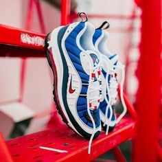 eb30956134d The  Nike Air Max 98 is making it s return in (White University  Red Obsidian) on Jan. 18th at Rock City Kicks. Men s and Women s Sizes  Available.