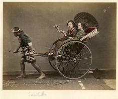Japon, Jinrikisha    #Asie_Asia #Japon_Japan