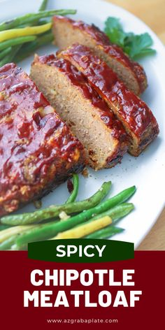 Spicy Chipotle Meatloaf is the favorite comfort food dish you remember – with a kick! You'll love the rich and spicy sauce that gets slathered over the top and served on the side for some extra goodness.