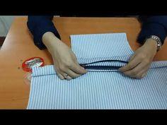 Çanta Astarına Fermuar Dikme Fermuara Cep Torbası Ekleme-How To Lap Zipper Under Bag Sewing Hacks, Sewing Projects, Bag Sewing, Pocket Pattern, Linen Bag, Wedding Headband, Cloth Bags, Fabric Crafts, Crochet Bags