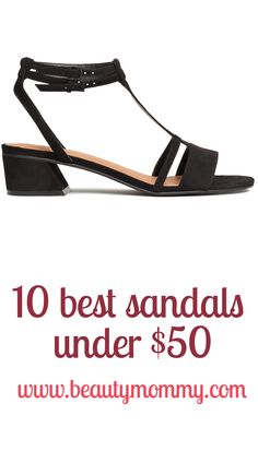 The 10 best flat sandals of summer, all under $50. http://beautymommy.com/