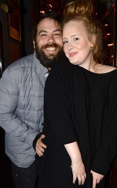 "Adele's Fiancé Simon Konecki Is ""Totally Fine"" With Her Ex-Boyfriend-Inspired Lyrics  Adele, Simon Konecki"
