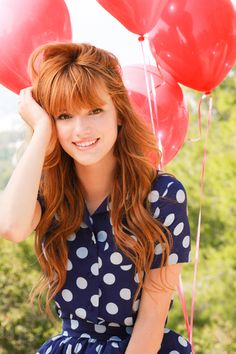 Bella Thorne is another example of my idea of beauty because she has a beautiful personality and a very soft voice. Although Bella Thorne has dyslexia, she still has a beautiful heart and cares for all of her fans.