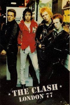 The Clash - London 77 - Mini Print