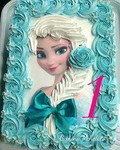 Birthday food frozen kids 39 ideas for 2019 Elsa Birthday Cake, Frozen Birthday Party, Frozen Party, Bolo Frozen, Frozen Cake, Bolo Elsa, Pastel Frozen, Cupcake Cakes, Cupcakes