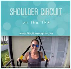 Work your shoulders and your core in this new workout. Plus, cute cats and dogs! | Fit Bottomed Girls