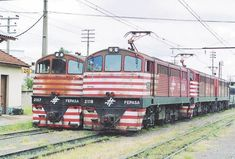 Electric Locomotive, B & B, Trains, Brazil, Transportation, World