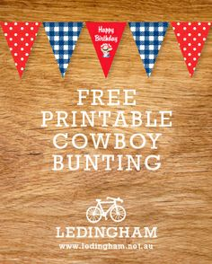 Free Printable cowboy bunting...,  Go To www.likegossip.com to get more Gossip News!