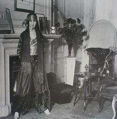 Pyjama de harem exotic, Paul Poiret 1922.