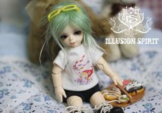 little Beata from Illusion Spirit is 1/12 size (16cm) and runs $115