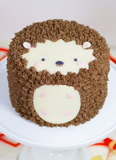 Hedgehog Cake by Whipped Bakeshop in Philadelphia