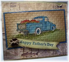 """WORKIN' OUT THE INKS: """"COUNTRYSIDE"""" FATHER'S DAY CARD"""