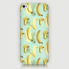 iPhone Case, WBowen Banana Pattern Back Case for