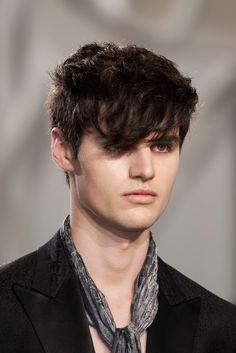 John Varvatos SS2015 | Milan Fashion Week | Fashionising.com | Model: Ben Lark