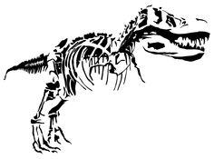 Dinosaur-Tyrannosaur-Rex-Tribal-Tattoo1.gif (1550×1150)