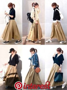 Fashion Tips Skirt Outfits Mode Outfits, Fashion Outfits, Womens Fashion, Cheap Fashion, Fashion Fashion, Fashion Tips, Ulzzang Fashion, Korean Fashion, Skirt Outfits Modest