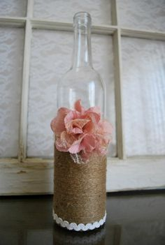 Twine Wine Bottles on Pinterest | Twine, Wrapped Bottles and Wine ...