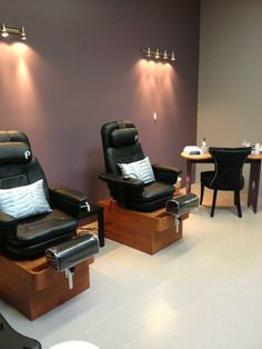 Pedicure and Gelish Manicure Room