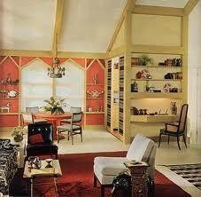 room decorating years 60's - Recherche Google
